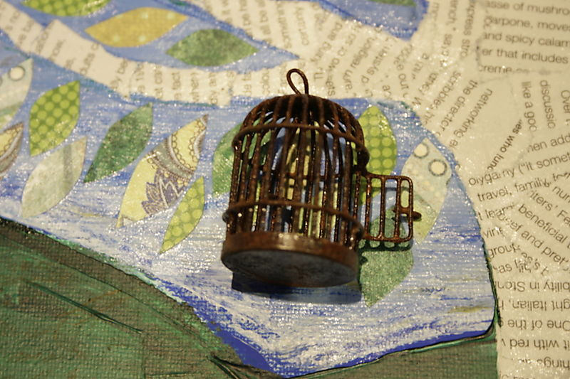 Cutest birdcage ever
