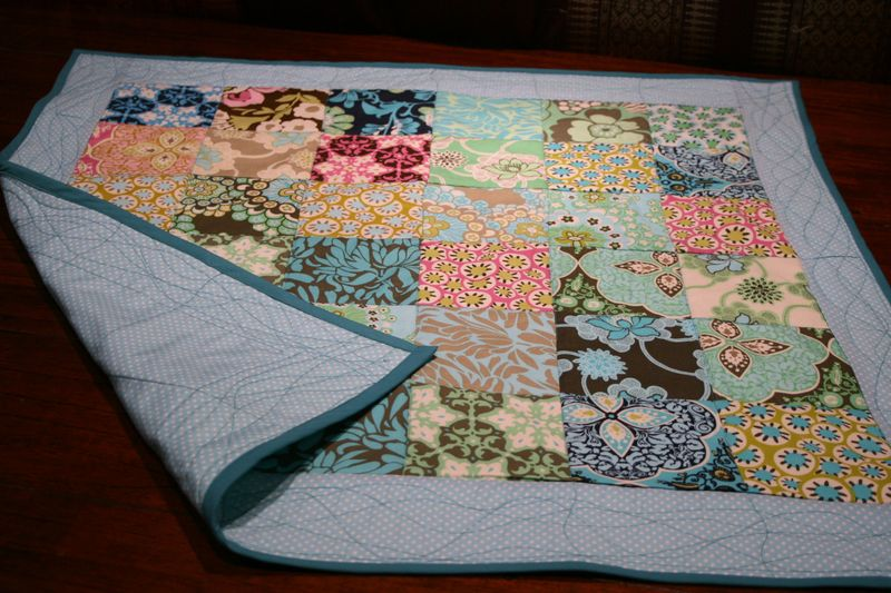Baby Change-Play Quilt