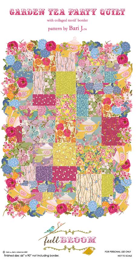 Garden Tea Party Quilt