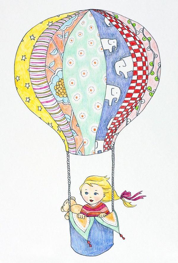 HomeMade Air Balloon by beanwoman1