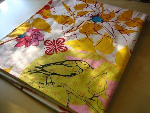 Birdie Bloom Blanket