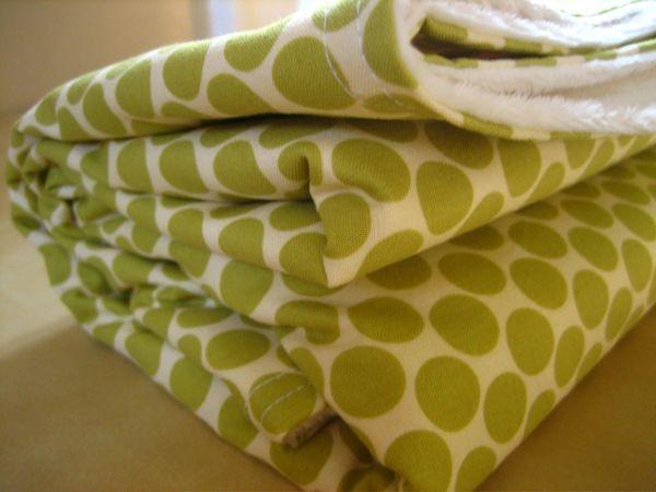 Key Lime Kiss Blanket by whynottsewn