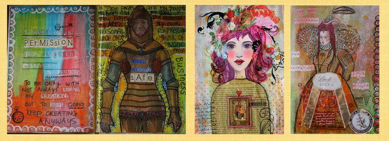 Art Journal Sneak