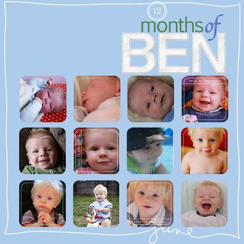 12 Months of Ben
