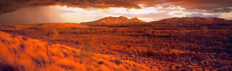 Mt Sonder dawn