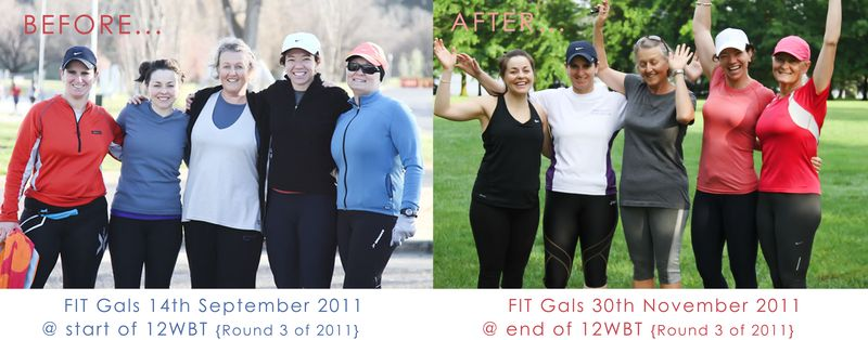 FIT 12WBT Before & Afters