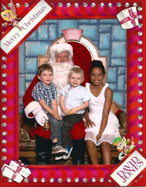 2011 Santa Photo