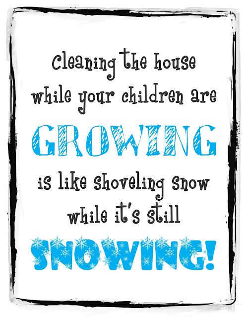 Growing snowing