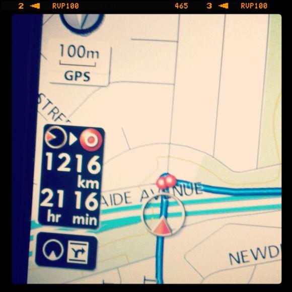 21hour car trip, I think not!!...