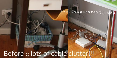Before Cable Clutter