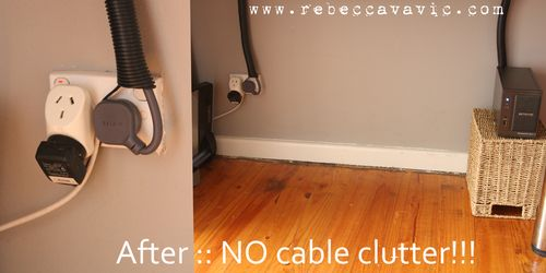 After Cable Clutter