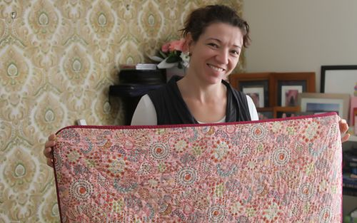 Must take photo of full quilt prior to gifting