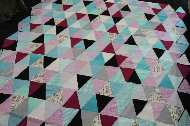 Mikaelas Triangle Quilt