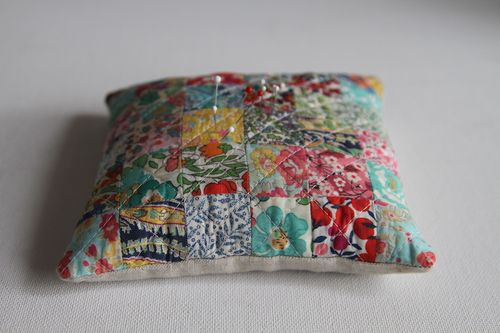 Liberty Pincushion Finish