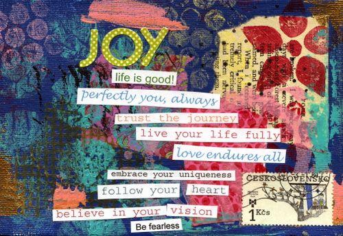 Joy in Blue