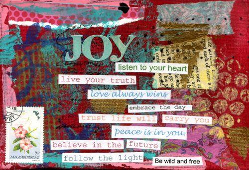Joy in Red