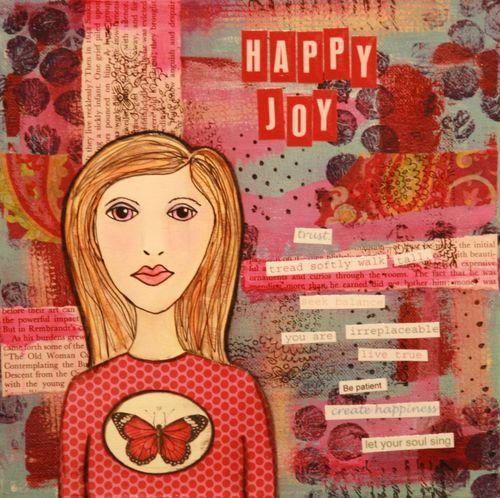 Rose Happy Joy