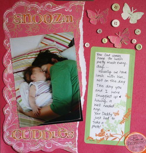 Snoozin Cuddles